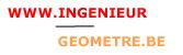 ingénieur-geomètre.be